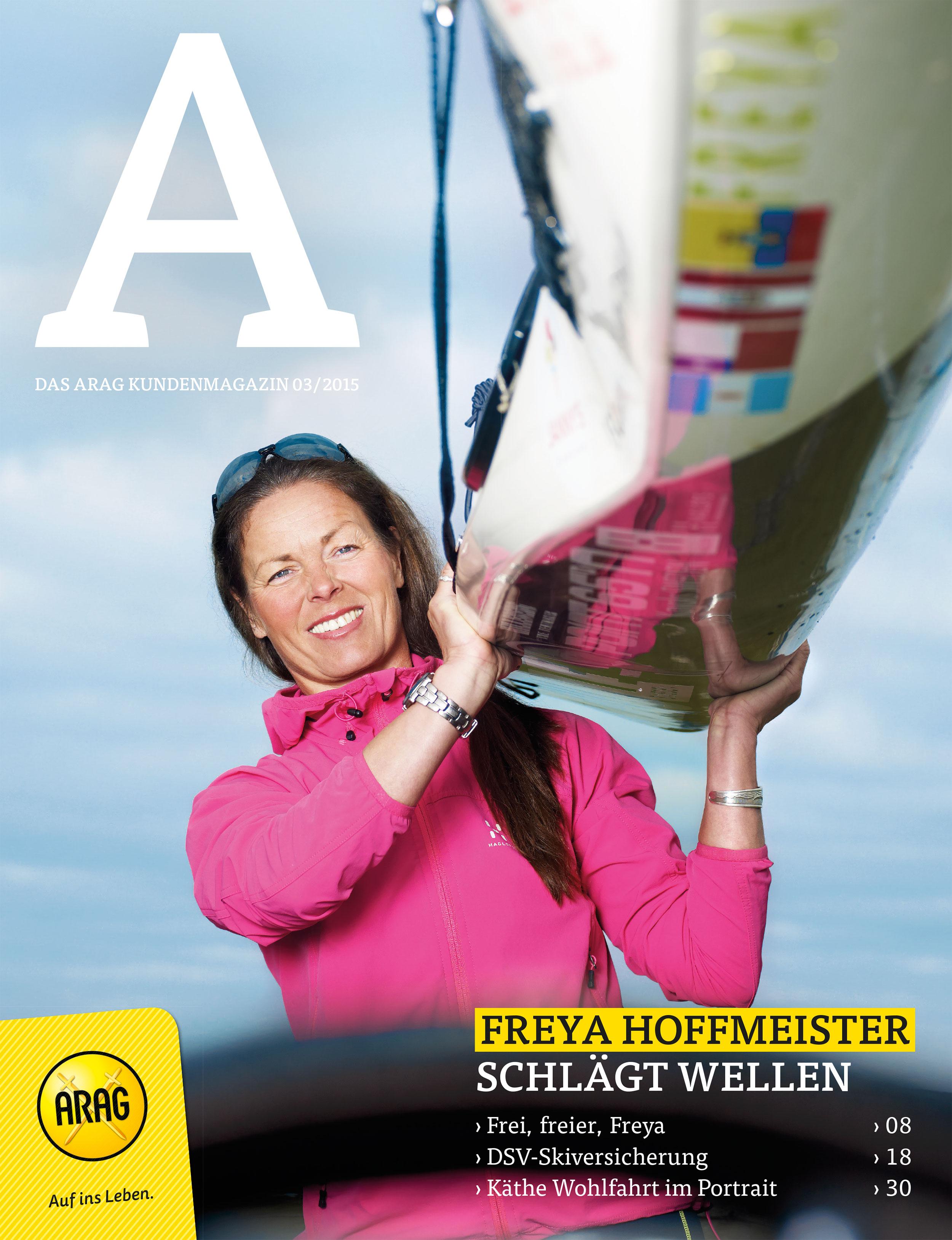 Arag Kundenmagazin A | Freya Hoffmeister | Husum | Boros