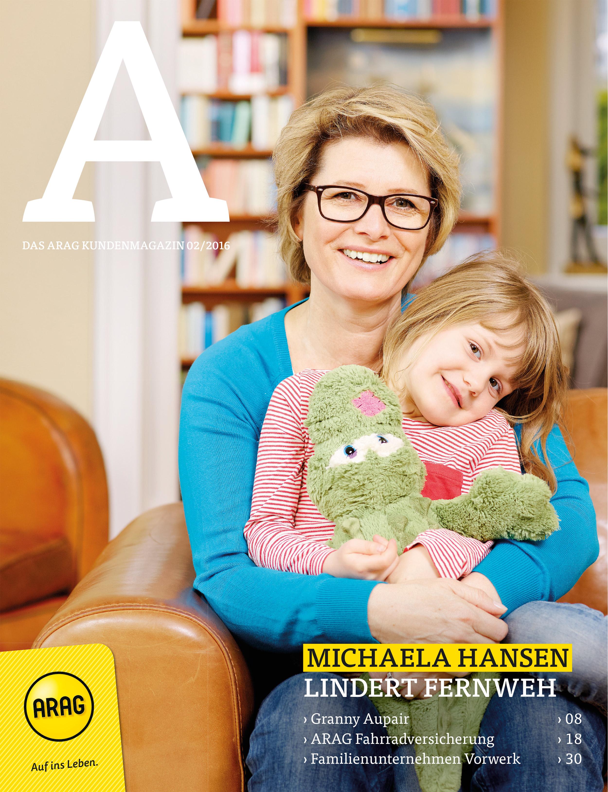 Arag Kundenmagazin | Boros | Michaela Hansen | Trevemünde